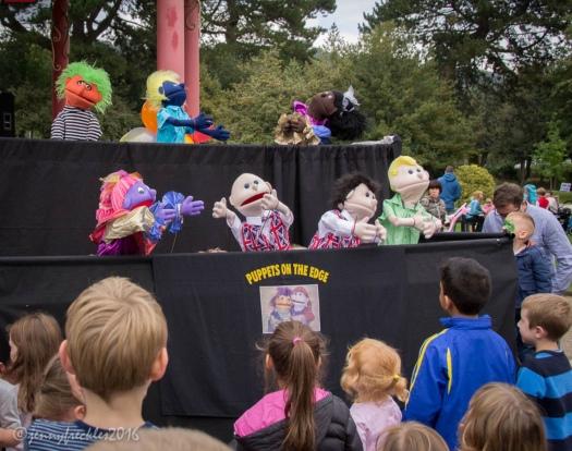 puppet show park